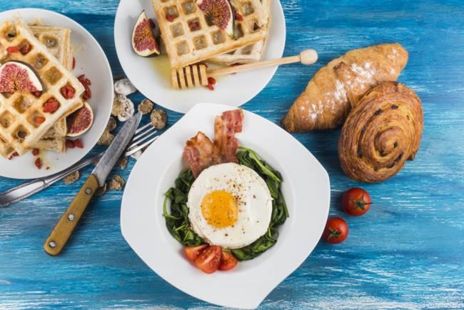 Омлет по-американски (scramble eggs)