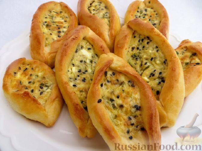 Пирожки с сыром рецепт