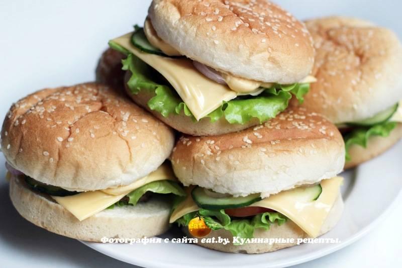 Как приготовить бургер своими руками: пошаговая инструкция + 6 крутых лайфхаков