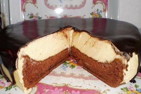 """Торт """"птичье молоко"""" с необычным суфле"""