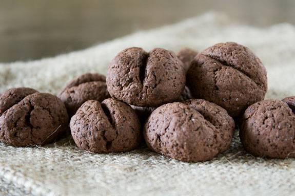 Печенье кофейные зерна - рецепт с фотографиями - patee. рецепты