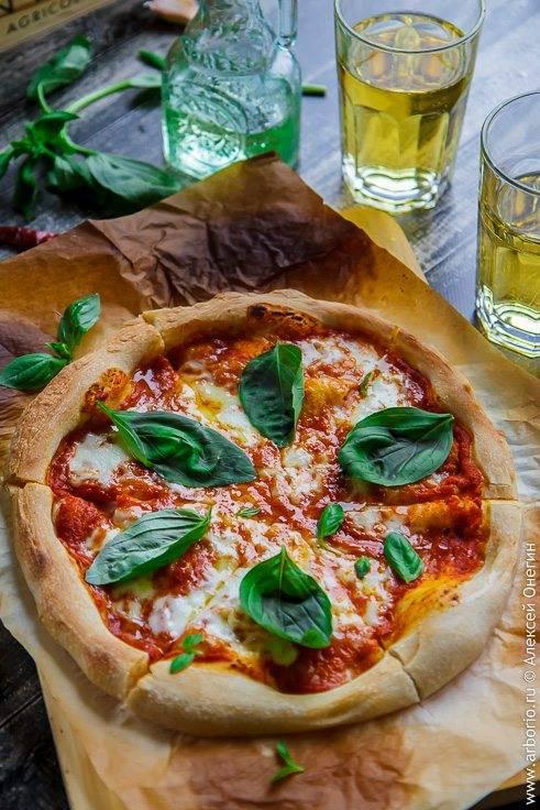 "Пицца ""маргарита"" в домашних условиях"