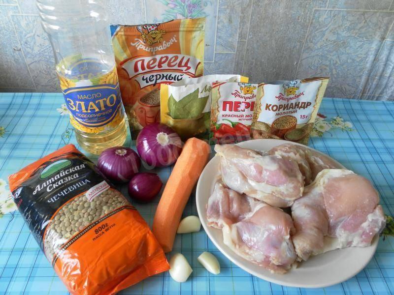 Чечевица в мультиварке - пошаговые рецепты с фото