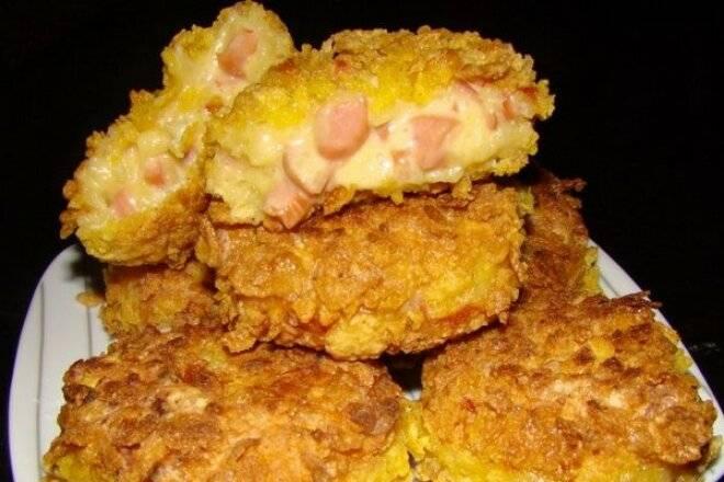 Быстрый закусочный кекс с сосисками - пошаговый рецепт с фото на сайте банк поваров