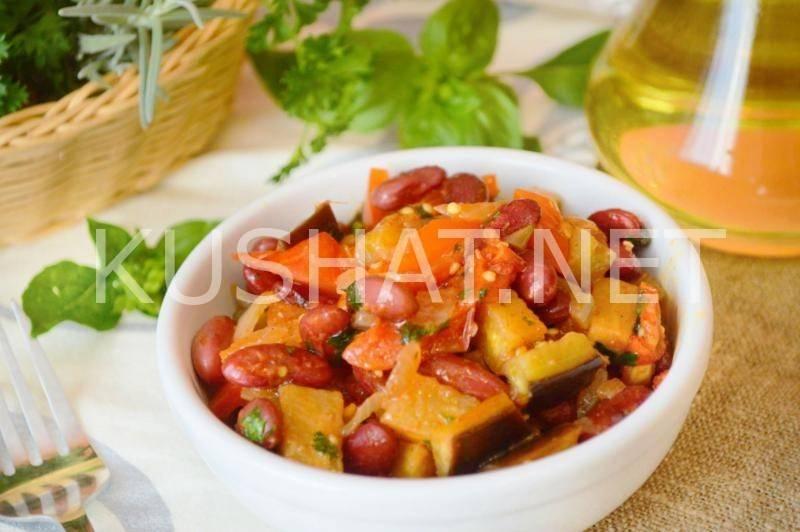 Фасоль красная. рецепты приготовления пошагово с фото гарниров, салатов, вторых блюд, в мультиварке для похудения