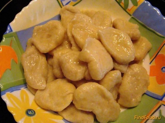 Клецки из картофеля: рецепт с фото