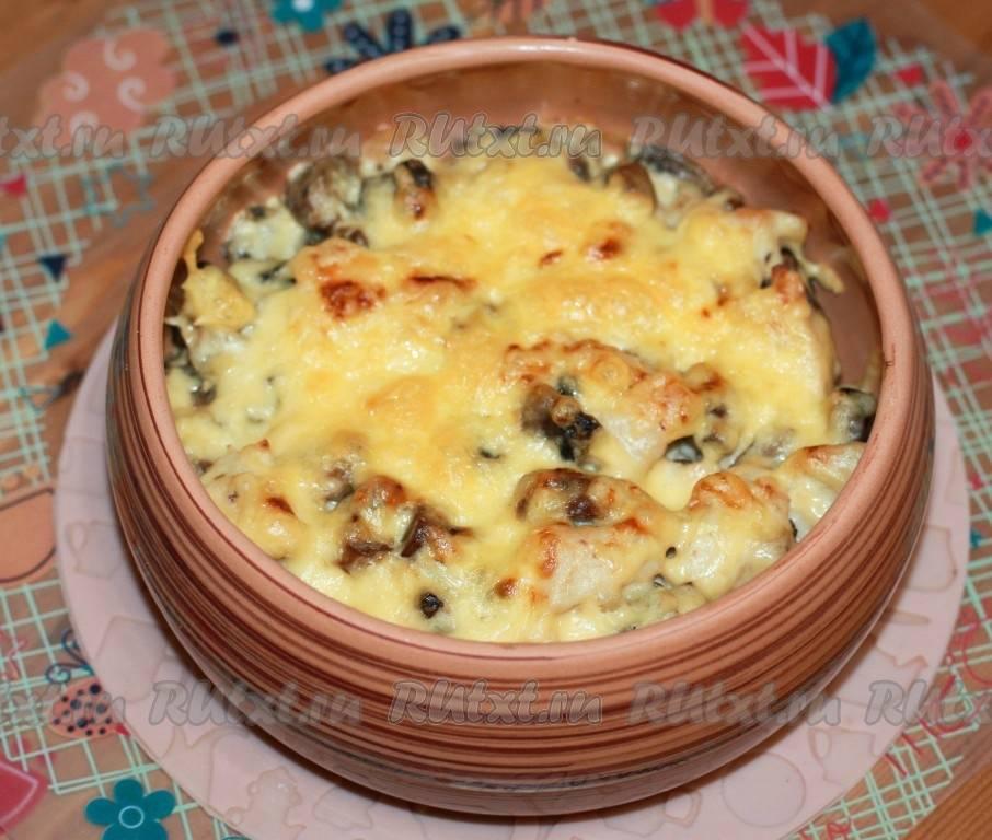 Жюльен с курицей и грибами в микроволновке - рецепт с фотографиями - patee. рецепты
