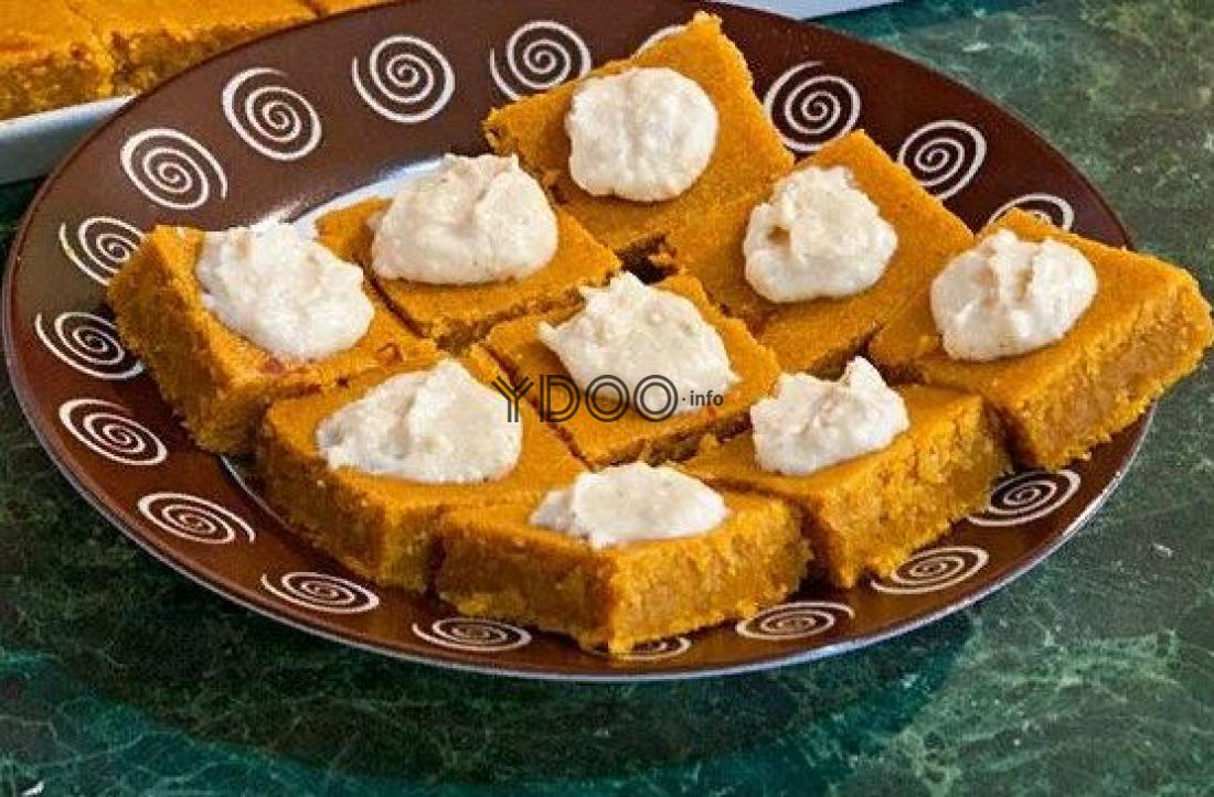 Необычное для сладкоежек: десерт из тыквы