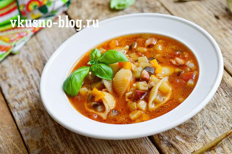 Суп минестроне