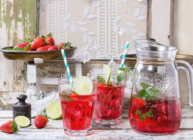 Домашний лимонад из клубники - рецепт с пошаговыми фото