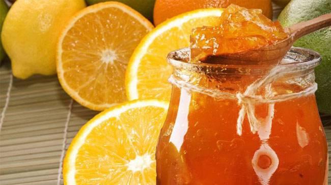 Апельсиновый джем с кабачком