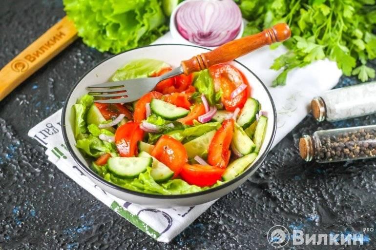 Летний сальса-салат - легкая овощная закуска