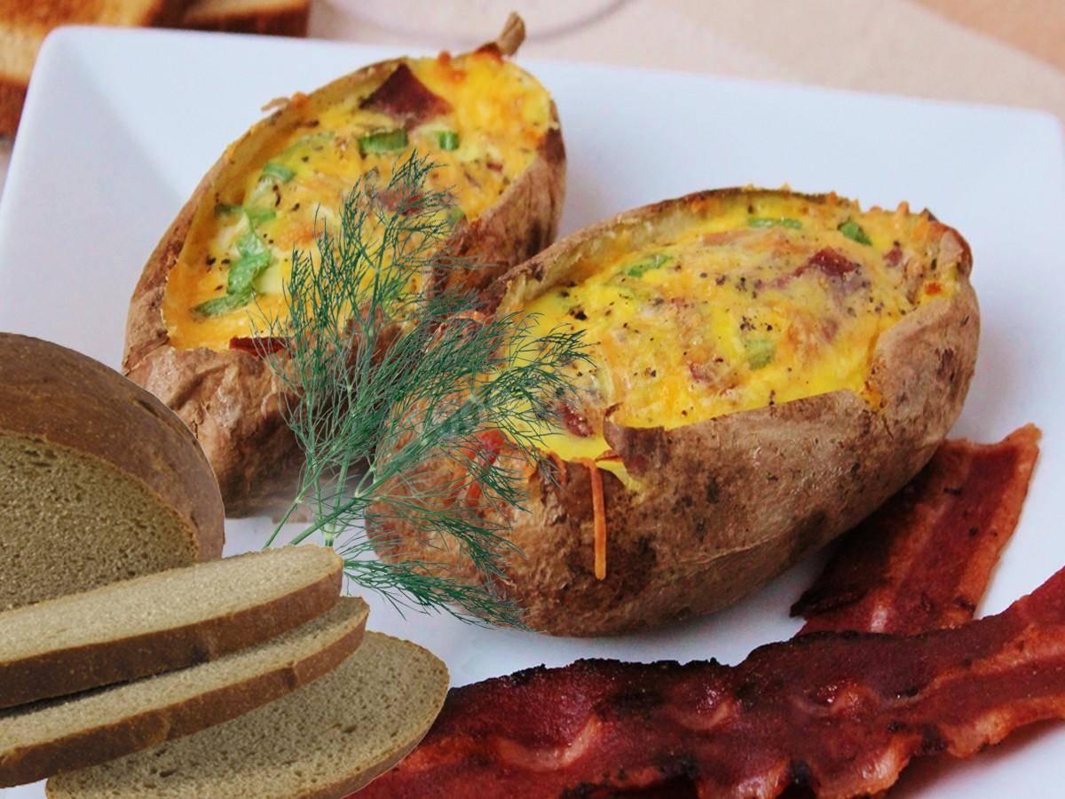 Картошка в духовке с куриным филе