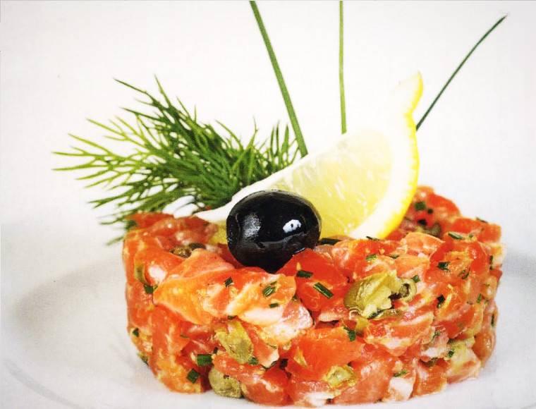 Тартар из лосося с авокадо: рецепт с фото пошагово