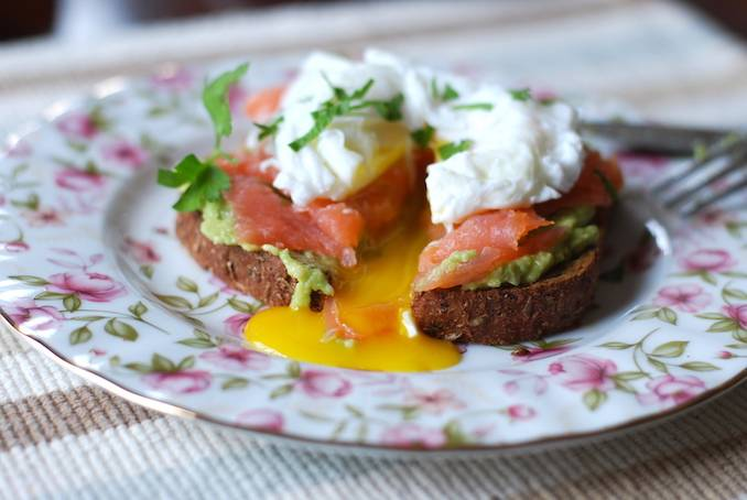 Простые завтраки с авокадо