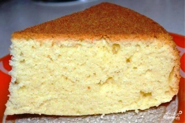 Кефирный бисквит