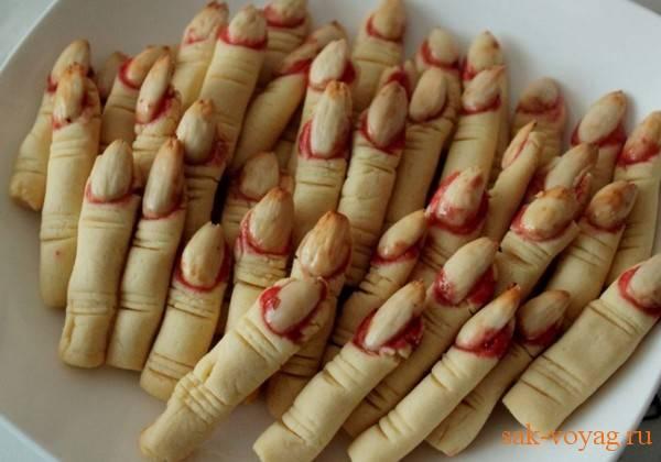 """Печенье """"пальцы ведьмы"""""""