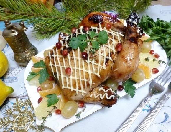Имбирная курочка в картофельном поросенке