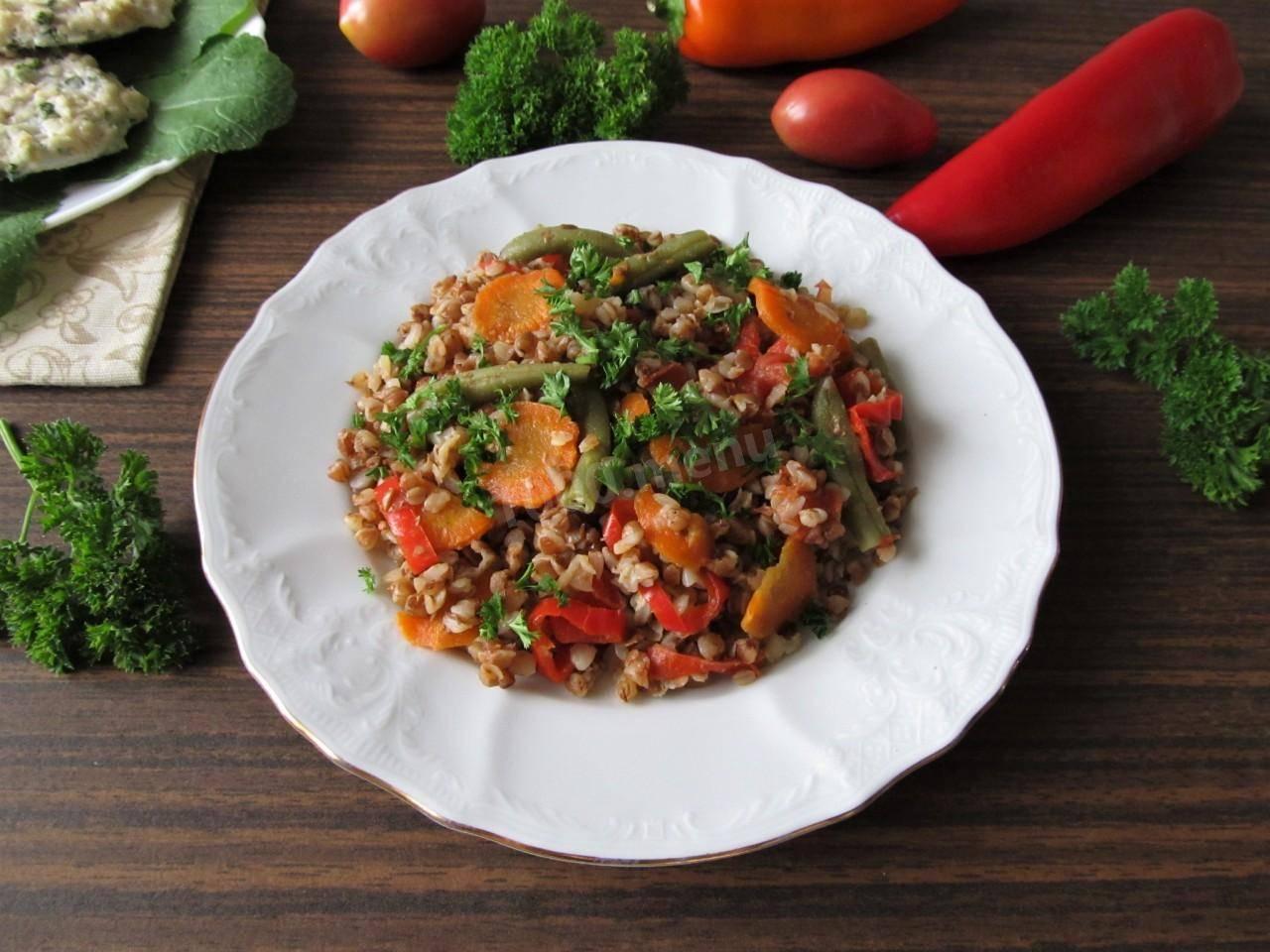 Фасоль с овощами и специями