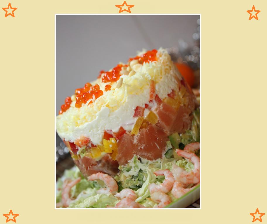 Какие выбрать овощные салаты на праздничный стол? рецепты с фото овощных праздничных салатов