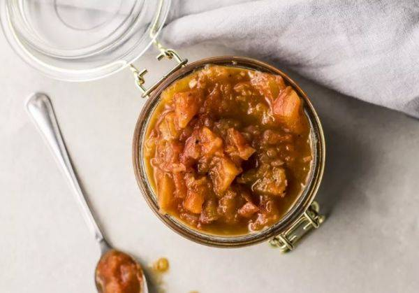 Индийский соус чатни за 30 минут