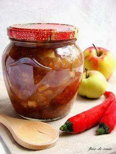 Индийский соус чатни из яблок и клюквы