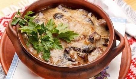 Пошаговый рецепт приготовления пельменей в горшочках в духовке