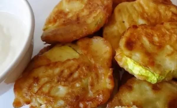 Кабачки в потрясающей панировке - готовим быстро и вкусно