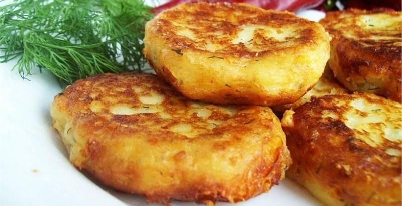 Картофельные оладьи - 7 пошаговых фото в рецепте