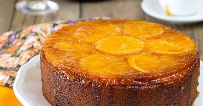 Апельсиновый пирог в мультиварке - 11 пошаговых фото в рецепте