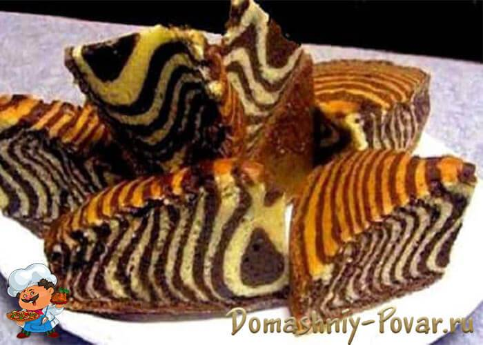 """Сумасшедший пирог """"crazy cake"""" - 6 пошаговых фото в рецепте"""