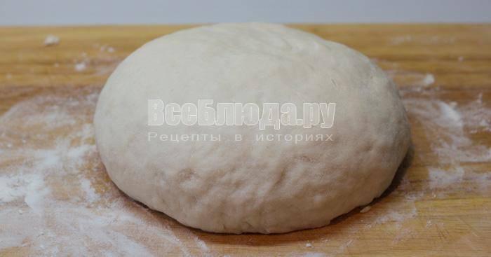 Тесто для вареников рецепт  как приготовить и замесить классическое тесто пошагово