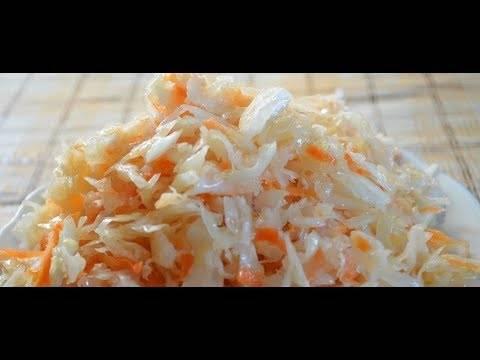 Самая простая и вкусная квашеная капуста