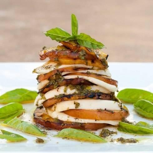 Салат капрезе с помидорами и моцареллой. классический итальянский рецепт и оригинальные закуски