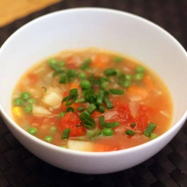 Суп с курицей и макаронами - 8 пошаговых фото в рецепте