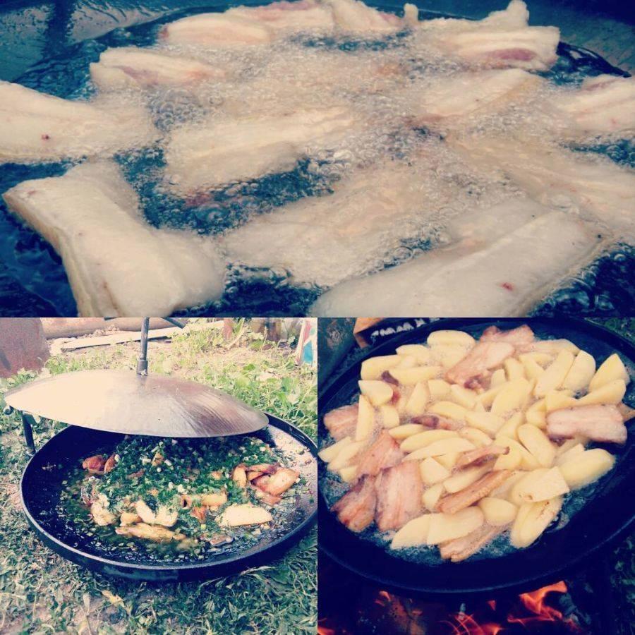 Картошка с грибами - рецепты с фото. как приготовить картошку с грибами на сковороде