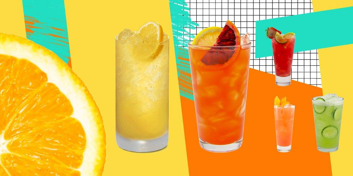 Как самому приготовить вкусный газированный лимонад