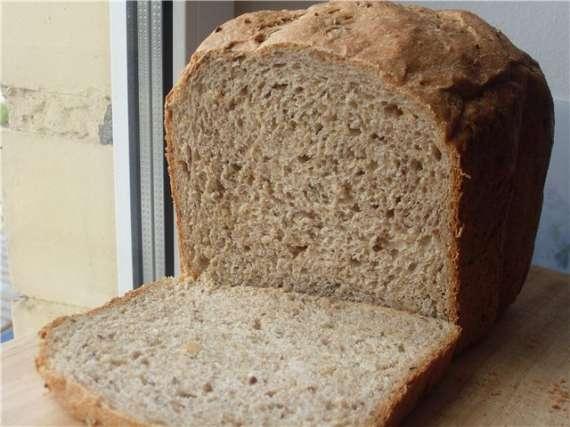 Десертный хлеб с добавлением цельнозерновой муки