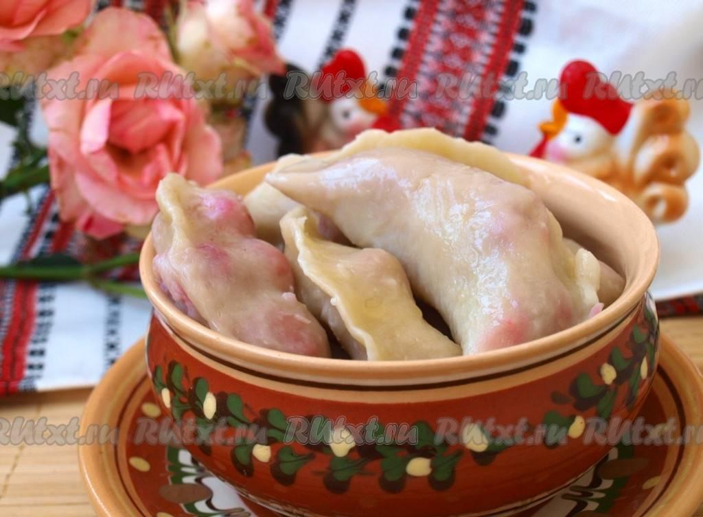 Пошаговый рецепт приготовления постных вареников