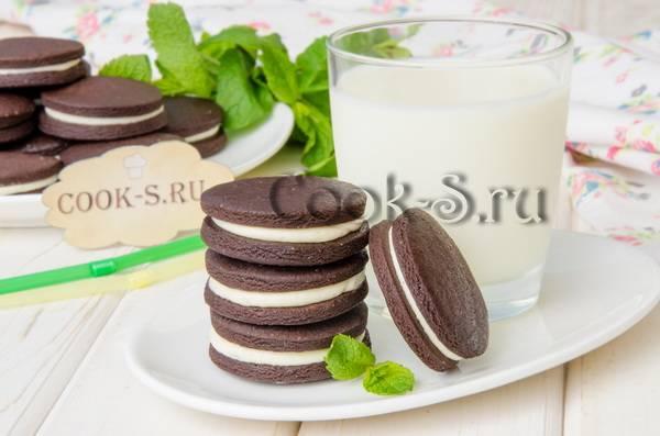 Печенье домашнее орео рецепт