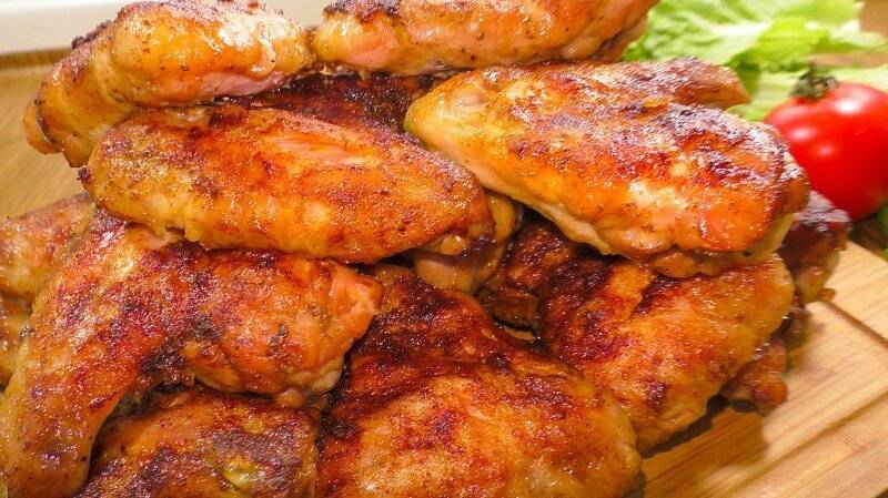 """Куриные крылышки """"просто, быстро, вкусно"""""""