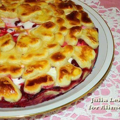 Вкусный пирог с виноградом рецепт — нежное тесто никого не оставит равнодушным.