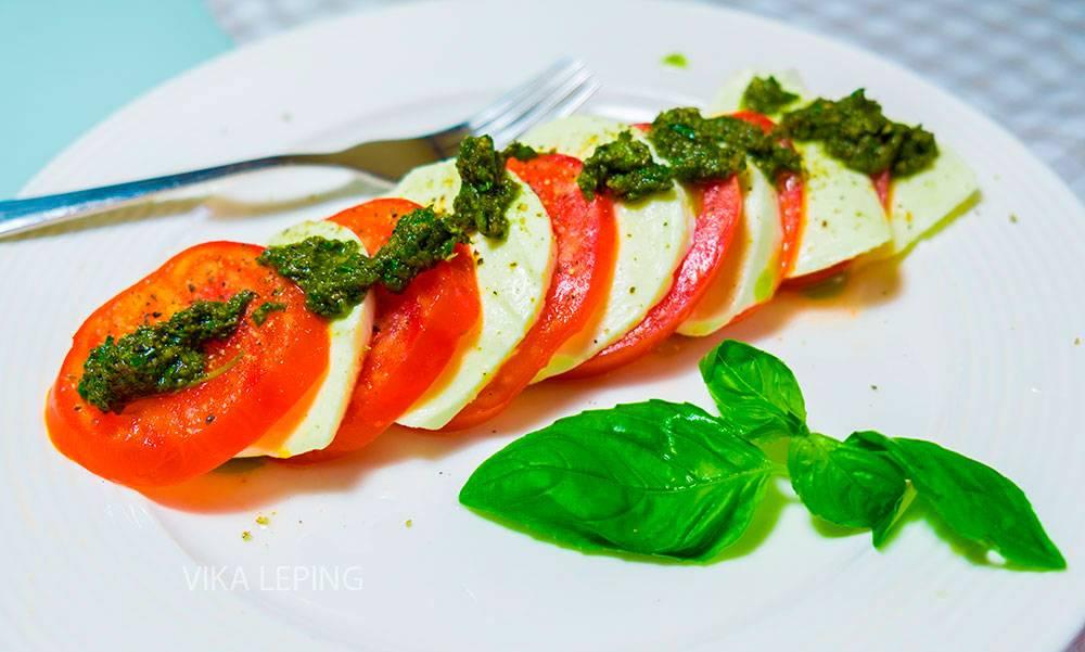 Капрезе: классический рецепт приготовления салата по-итальянски