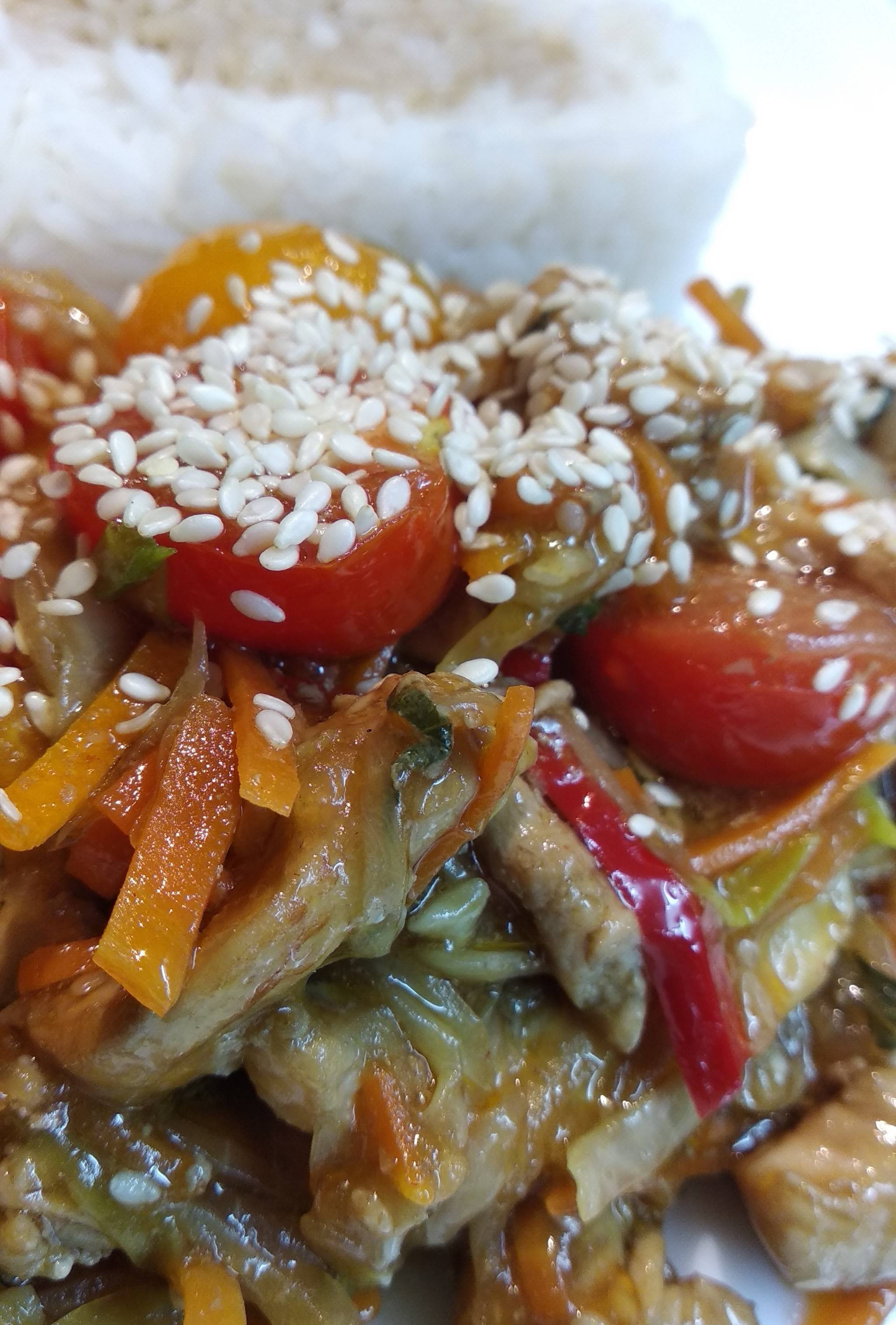 Свинина стир-фрай (stir fry) с овощами