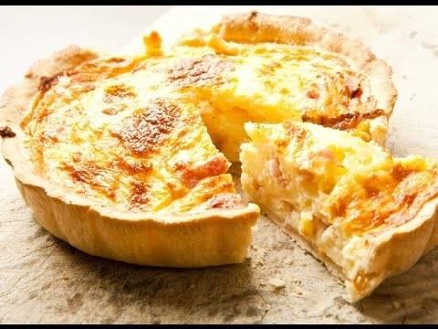 Лоранский пирог - рецепты с курицей, грибами, брокколи и рыбой