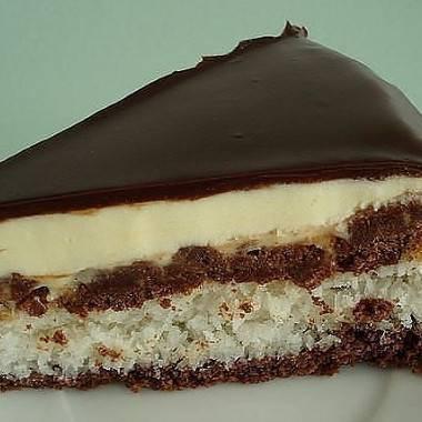Итальянский бабушкин пирог с заварным кремом.