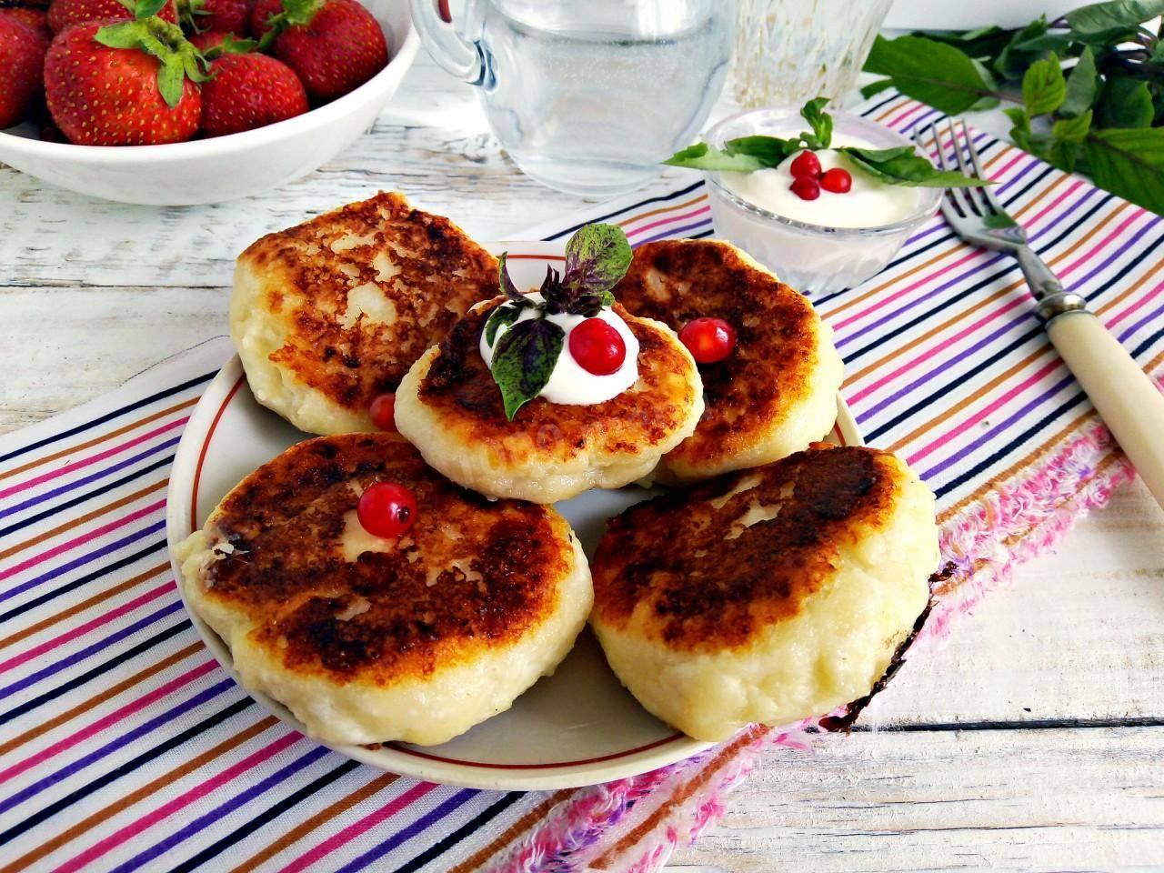 Сырники нежность рецепт с фото