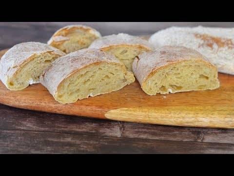 Домашний хлеб по итальянскому рецепту