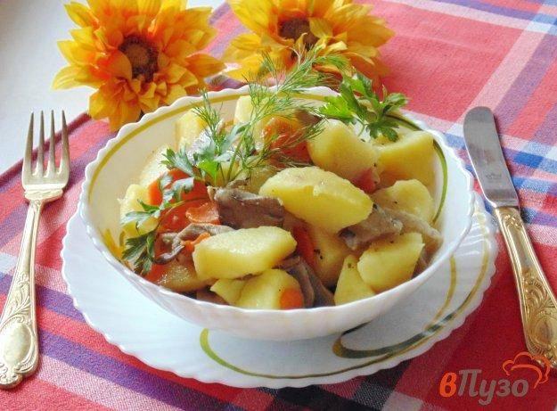 Блюдо из вешенок и картофеля. вешенки жареные с картошкой: рецепты разных блюд