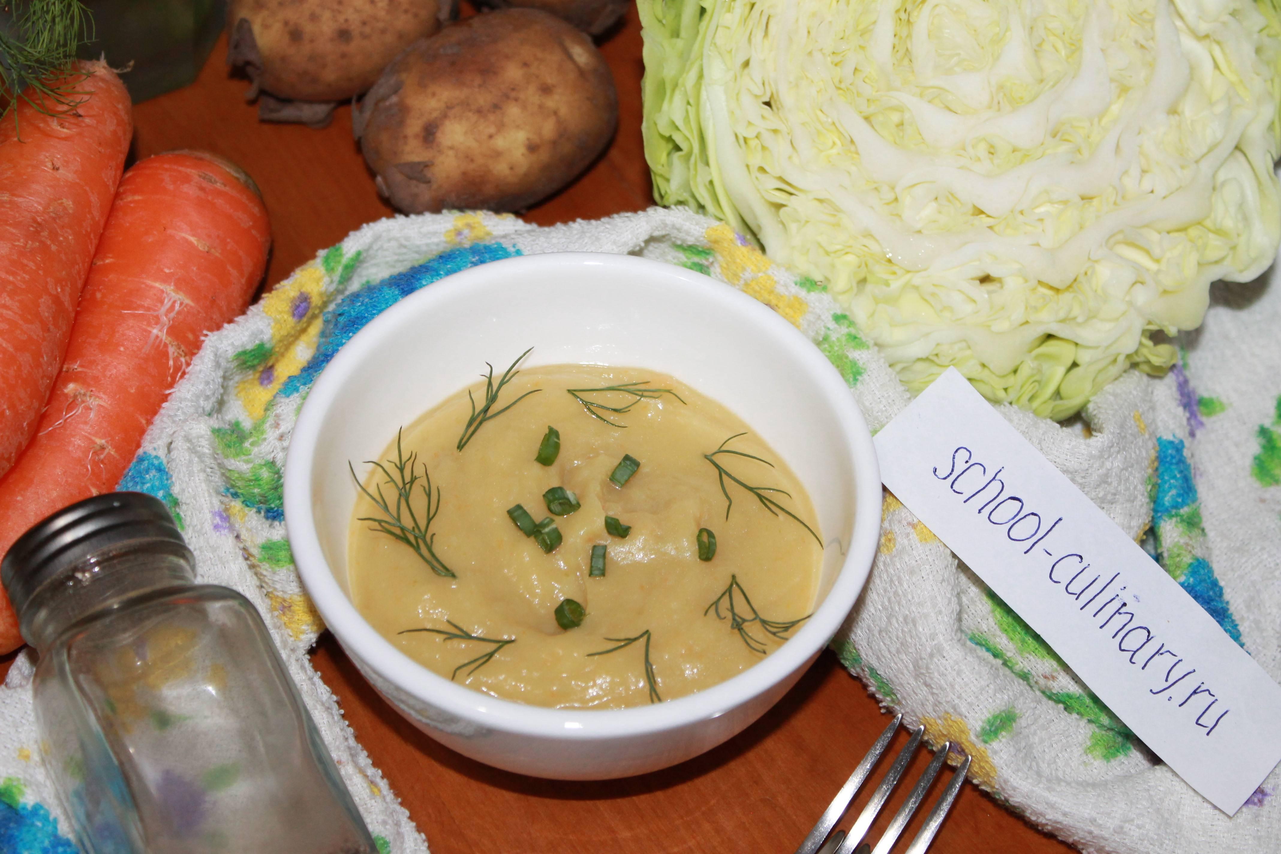 Картофельное пюре с морковью и луком рецепт с фото
